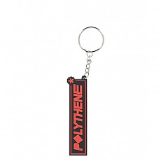 19SS[폴리에틸렌 옵틱] ACCESSORIO RUBBER BADGE KEYRING PORK01